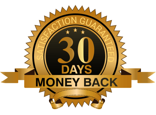 image of the 30 day money-back guarantee on combatives self defense classes madison wi