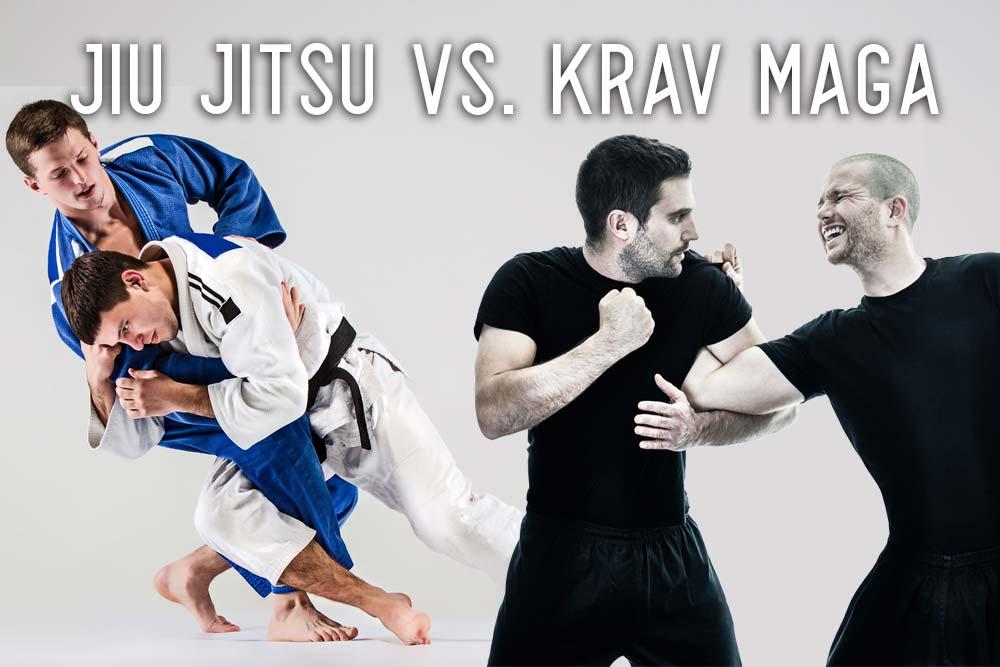 Krav Maga vs. BJJ: What's Better?